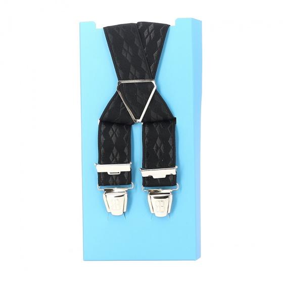 Fancy suspender belt - Noir carreaux