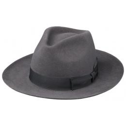 Chapeau Bogarte Feutre Poil  Gris - Traclet