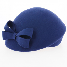 copy of Black Wool Formed Beret- Traclet
