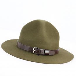 Chapeau Scout Feutre Laine Olive - Guerra 1855