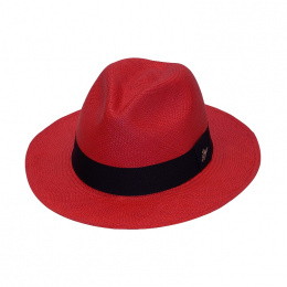 Red Panama Hat