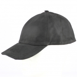 Casquette Baseball David Cuir Marron - Traclet