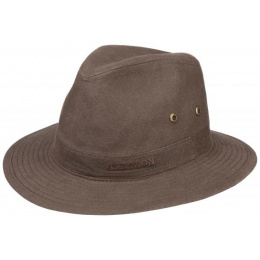 Chapeau Traveller Virginia Coton Biologique Marron - Stetson