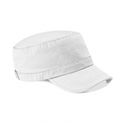 Army Cap White Cotton - Beechfield