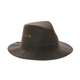 Oiled hat Sologne brown