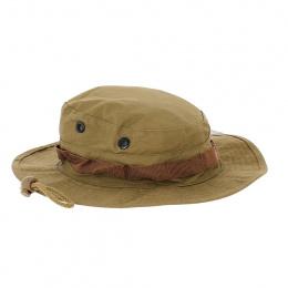 chapeau de brousse marron