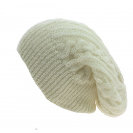 Bonnet Long Florence Crème - Traclet