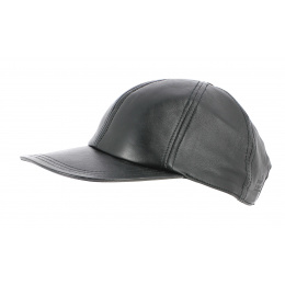 Tasmania leather cap