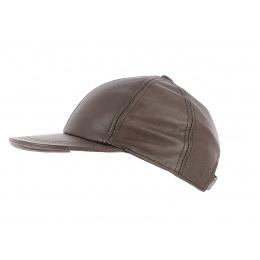 Tasmania leather cap