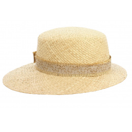 copy of Casquette Wimbledon Paille Naturel - Traclet