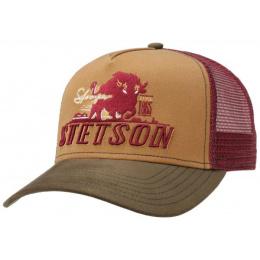Casquette Baseball Stronger Bison Coton - Stetson