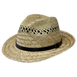 Fedora Traun Natural Straw Hat- Traclet