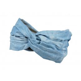 Bandeau Twinzer Headband Bleu Coton - Barts