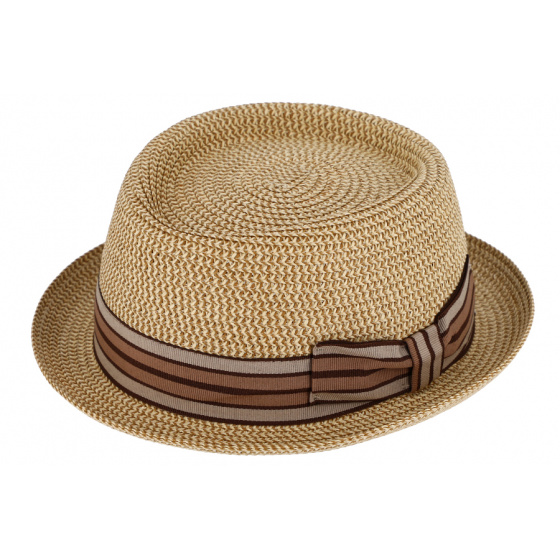 copy of Chapeau PorkPie Indian Wells Polyester Beige - Traclet