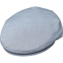 Casquette Plate Coton Ravenne Bleue - Traclet