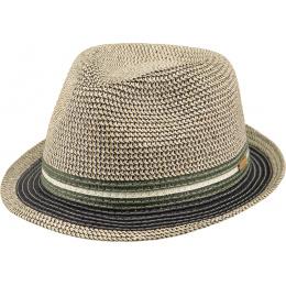 copy of Trilby Hat Fluoriet Straw Marine Paper Barts