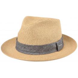 Chapeau de paille Reedley Beige - Stetson