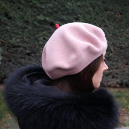 Béret Mode Rose - Le Béret Français