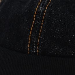 Bonnet docker - Casquette sans visière jean noir