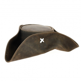 Jack Sparrow Real Leather Tricorn Pirate Hat