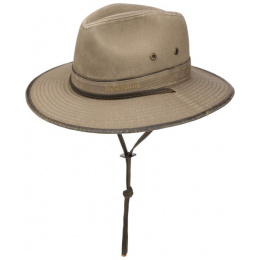 Chapeau Traveller Tarn Taupe Coton - Stetson