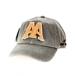 Old Town Baseball Cap Grey - Aussie Apparel
