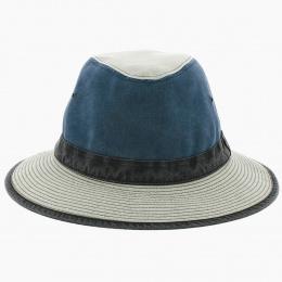 Chapeau Traveller Spenser Bleu  - Crambes