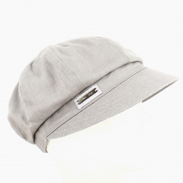 Casquette Gavroche Hors série Lin Taupe  - MTM