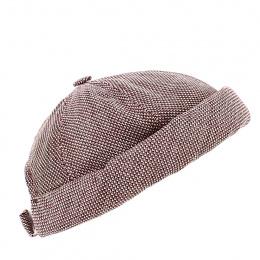 Docker Wool & Linen Brick Beanie - MTM