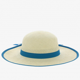 Capeline Caroll Panama Bleu ciel - Traclet
