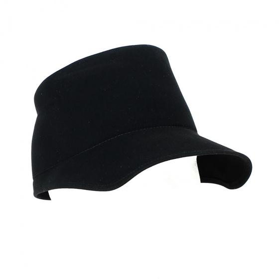 Casquette Nordiste Feutre Poil Noir - No Hats