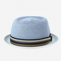 Chapeau Porkpie Scriba Toyo Bleu ciel - Stetson