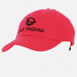 Casquette Baseball Red Cotton - Jack Magnan