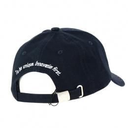 Black Cotton Baseball Cap - Jack Magnan