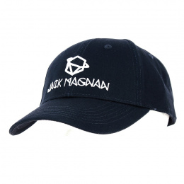 Casquette Baseball Black Cotton - Jack Magnan