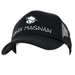 Casquette Trucker Black Area - Jack Magnan