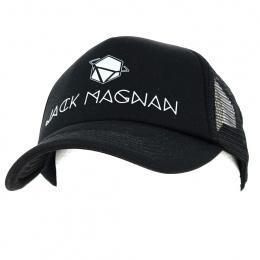Trucker Black Area Cap - Jack Magnan