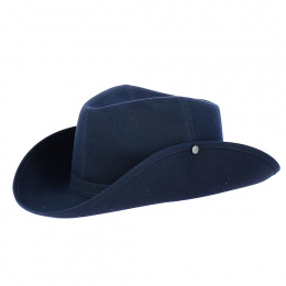 Camargue Hat Pampa Blue Navy - Crambes