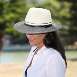 Chapeau Bella Ivoire Marine- Emthunzini Hats