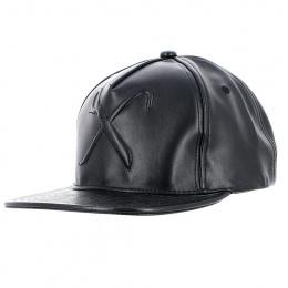 Casquette Snapback Hard Graft Shine Noir - King Apparel