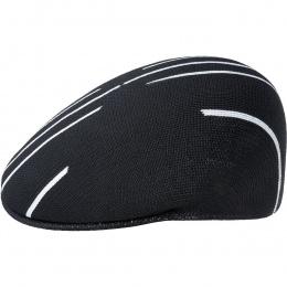 Casquette Plate Stripe X-TOP 504  Noir - Kangol