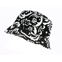 Bob Black and White Floral - Traclet