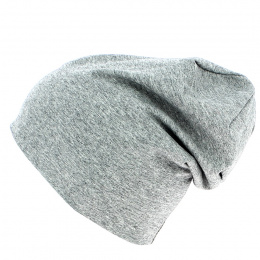Hype Cotton Grey Long Hat - Traclet