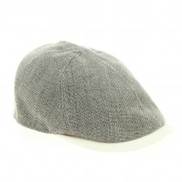 Linen duckbill cap