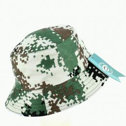Bob Camouflage Géométrique Vert - Traclet