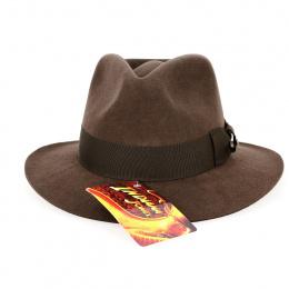 Indiana Jones Felt Hat Chocolate Hair