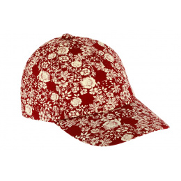 Casquette Baseball Floral Coton - Traclet