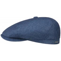 Hatteras Manual Linen Cap Blue - Stetson