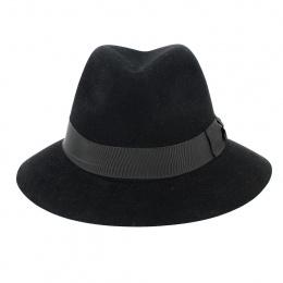 Chapeau Traveller Indiana Jones Feutre Poil Noir - Crambes