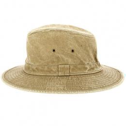 Chapeau Traveller Outdoor Coton Beige - Traclet